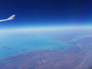Beautiful scenery over Western Australia